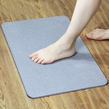 Bath-Mat Doormat-Carpet Diatomite Floor-Mat Foot-Pad Absorbent Non-Slip Quick-Drying