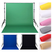 Background Non-Woven Fabric Solid Color Green Black Screen Photo Backdrop Studio Photography Props Photo Studio Simple Backgroun