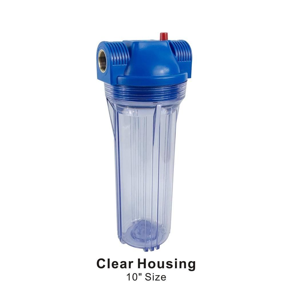 "White Plastic 4/"" Water Filter Cartridge Housing Wrenching for Water Purifier"