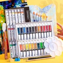 Oil-Paints Art-Supplies Drawing-Pigments Colors Maries Set Professional 12/18/24-colors