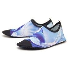 лучшая цена QEJEVI Summer Water Shoes Men Women Color Footwear Sport Surfing Aqua Beach Non-Slip Swimming Quick-Drying Sneaker Seaside Socks