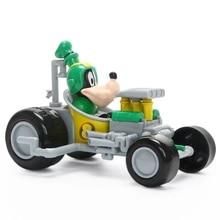 Disney Pixar 2019 New Car Mickey Minnie Mouse Plastic Top-grade Toy Childrens Toys Birthday Gift Christmas