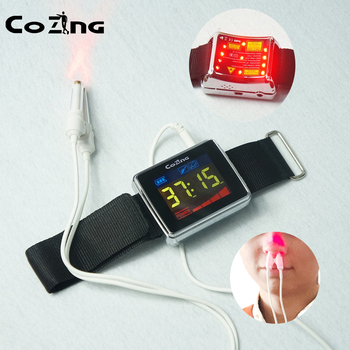 Laser Therapy Apparatus Lllt Light Therapy Watch For Rhinitus Hypertension Cerebrovascular Disease
