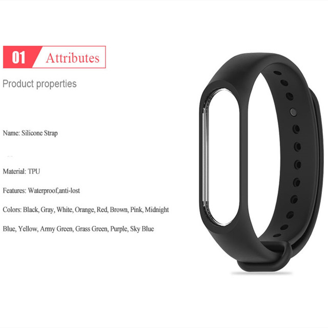 Bracelet for Xiaomi Mi Band 6 5 4 3 Sport Strap Replacement Wristband MiBand 6 4 band5 Wrist Strap for xiaomi Mi Band 4 3 strap 3