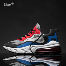 Eihort Air Cushion Men Running Shoes Track Field Training Cushioning Sneakers Outdoor Non-slip Sports Shoes Breathable Men Shoes