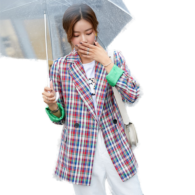 Fashion Casual Blazer Women Outerwear Jacket Ladies Clothes Female Elegant Formal Office Work Wear OL Styles Jackets and Coats