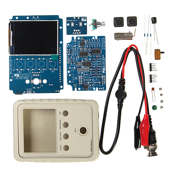 Hot XD-Tech For Dso150 15001K Diy Digital Oscilloscope Unassembled Kit With Housing Dso-Shell