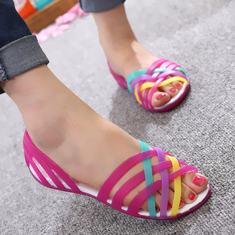 Jelly Shoes New Women Sandals Comfort