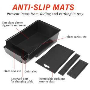 Image 2 - Car Armrest Storage Box Case Central Anti slip for Hyundai Sonata DN8 10th 2020