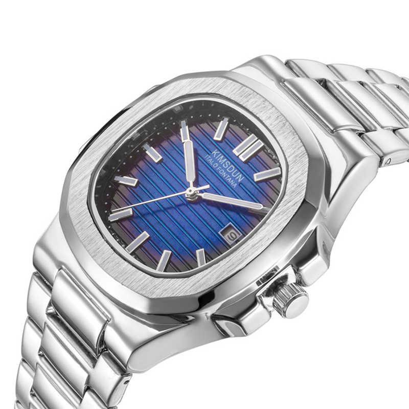 Швейцарские часы мужские люксовый бренд море Nautiluses Женева календарь из нержавеющей стали Кварцевые часы с подсветкой rolexable золотой