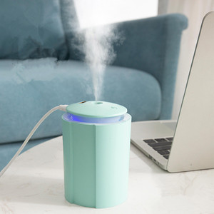 Ultrasonic Mini Air Humidifier 260ML Aroma Essential Oil Diffuser for Home Car USB Fogger Mist Maker with LED Night Lamp 2020