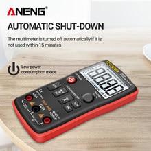 6000 conta multimetro LCD misuratore di corrente digitale voltmetro portatile per ANENG AN113B accessori per elettricità domestica