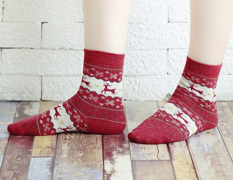 PLOFR BAG women socks lady gift sock fashion winter