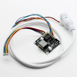 CCTV POE module PCB board Power Over Ethernet 12V output Smart POE IEEE802.3af/at for ip camera with weatherproof POE cable