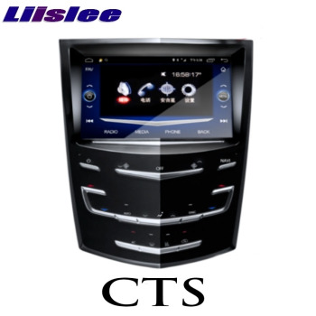 For Cadillac CTS CTS-V STS 2013~2020 Liislee Car Multimedia Player NAVI CarPlay Stereo Radio GPS IPS Touch Screen Navigation image