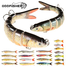 Multi Jointed Lure Fishing Swimbait Wobbler For Pike Saltwater Sinking 7 8 10 Segments Robobait Crankbait Trout Hard Bait Bass