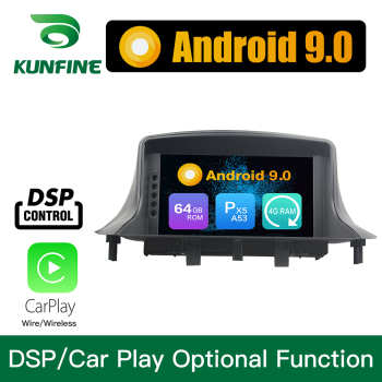 Android 9.0 Octa Core 4GB RAM 64GB ROM Car DVD GPS Multimedia Player Car Stereo for Renault Megane III Fluence 2009 -2016 image