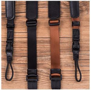 Image 5 - Vintage Original Handmade Genuine Leather +Webbing Simple Camera Shoulder Strap DSLR Neck Wrist Belt for Canon/Nikon/Sony