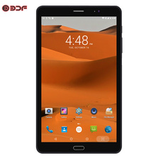 มาใหม่ 8 นิ้วแท็บเล็ตพีซี 3G โทรศัพท์ Android 6.0 Quad Core โทรศัพท์มือถือ 3G โทรแท็บเล็ต Dual SIM WiFi 1280*800 หน้าจอ IPS