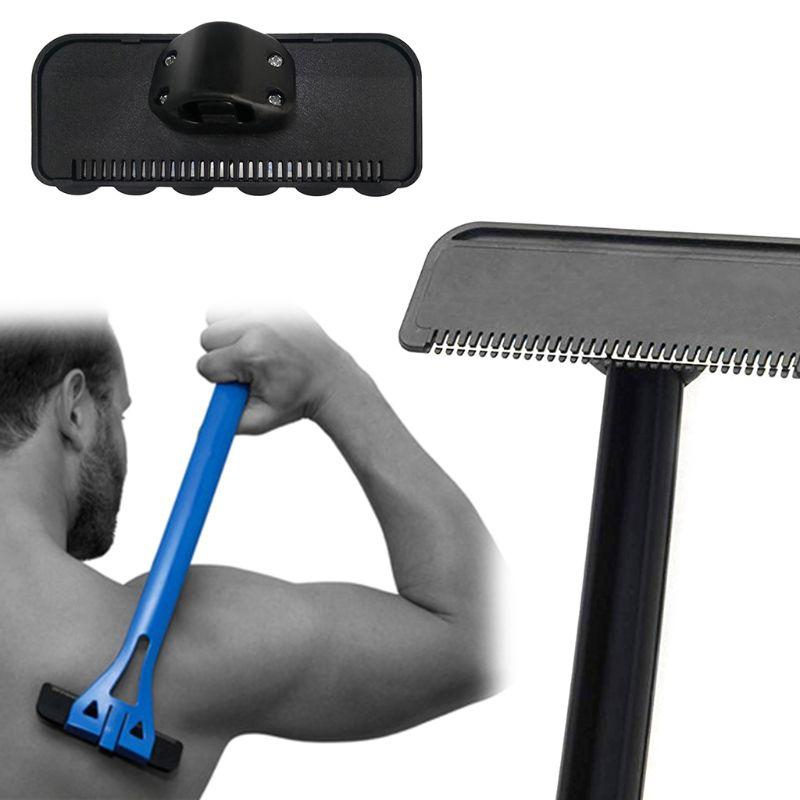 Men Manual Back Hair Shaver Head Blade Trimmer Body Leg Removal Razor