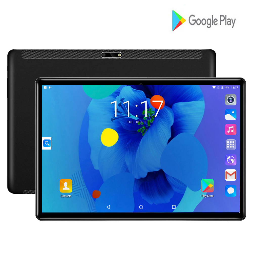 2020 Global Version 10 Inch Tablet PC 2GB RAM 32GB ROM 1280*800 IPS Dual SIM Card 3G Wifi Android 7.0 Tablet 10.1+Gifts