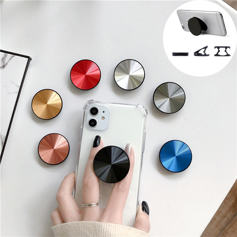 Extendable Phone Ring Holder Socket Solid Cellphone Grip Ring Holder For IPhone 11 Pro Max For Xiaomi/Huawei Grip Holders