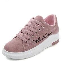2019 Spring New Designer Wedges Pink Platform Sneakers Women Vulcanize