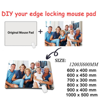 Mairuige 100X50CM PersonalityYou own picture DIY Gaming Mouse Pad Gamer Large Personalized Pad For CSGO DOTA LOL Gamer