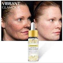 24k ouro clareamento da pele rosto soro facial hidratante ácido hialuronico para o rosto creme facial
