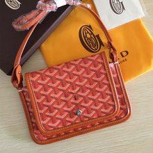 Moda tendência high-end luxo requintado bolsa de ombro casual moda três-camada saco carta impressão envelope saco pequeno