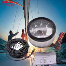 5mm 120km\h 200km\h fit 9~32V Car Marine Boat Digital Speedometer 7 Colors Backlight Display GPS Speed Gauge