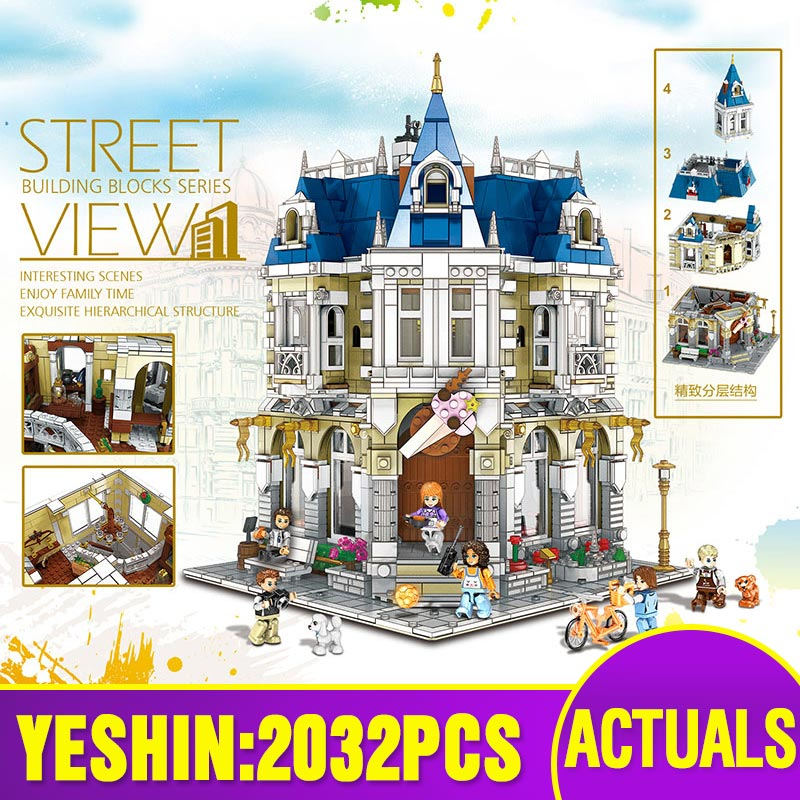 Lepining Streetview Building Toys Compatible With MOC - 14603 The Costume Shop Assembly Model Building Blocks Kid Christmas Gift