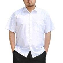 Men Shirt 10XL Plus-Size 12XL Short-Sleeve Summer 9XL 8XL 14XL 7XL 157cm Bust