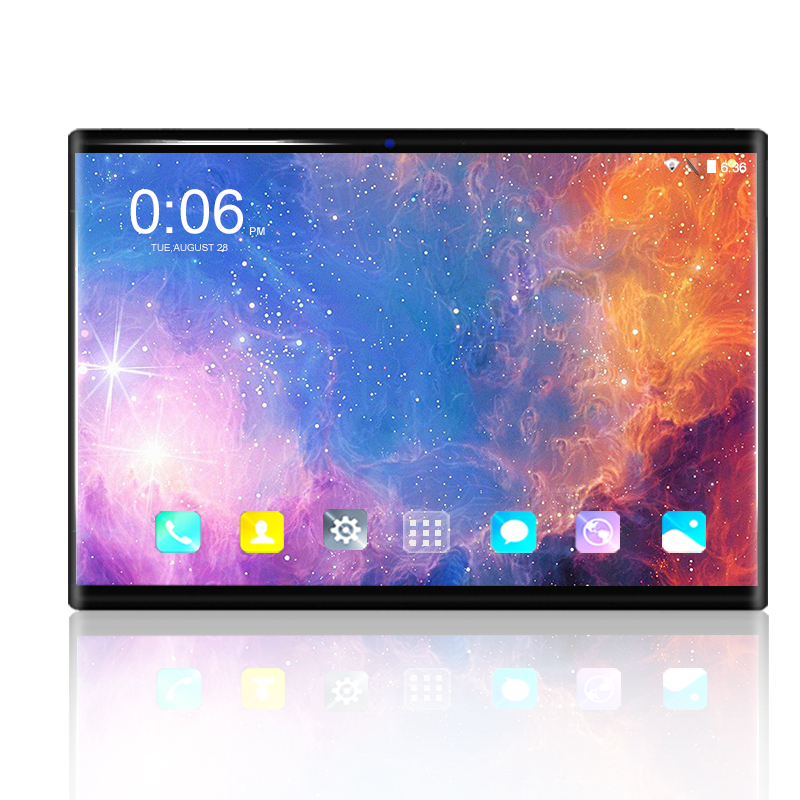 Android 9.0 Tablet Pc 10.1 Inch Google Play Octa Core 6GB+128GB 3g/4g LTE Smartphone Android 9 GPS WIFI 1280 800 IPS Tablets 10""