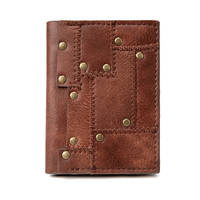 Steampunk retro coin purse female short wallet Industrial Revolution wallet Halloween Punk Style Accessories