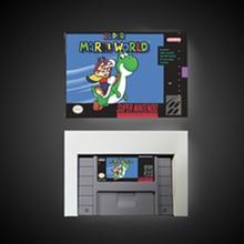 Super Mari World karta do gry RPG oszczędzanie baterii w wersji amerykańskiej opakowanie detaliczne