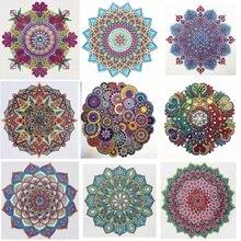 Diamond Painting Embroidery-Craft-Kit Flower Cross-Stitch Mandala Home-Decor Modern-Pattern