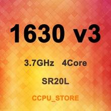 زيون E5 1630 v3 SR20L 3.7GHz 4 النواة 8 موضوع 10MB 140W LGA2011 3 X99 معالج وحدة المعالجة المركزية لا QS/ES