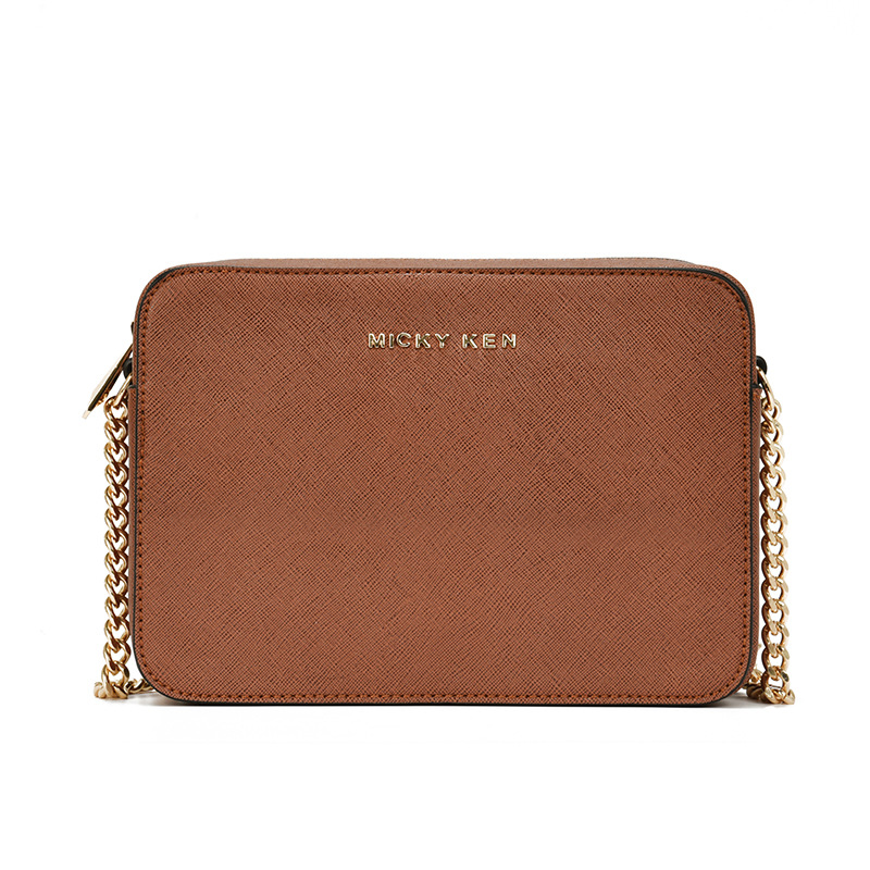 2019 Spring Fashion Zipper Women Shoulder Bag Chain Strap Chain Small Square Designer Handbags Clutch Bag Ladies Messenger Bags