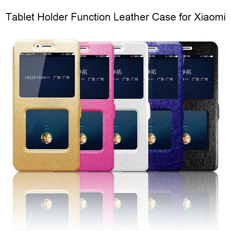 Silk Pattern Case for Xiaomi Mi A1 A2 Max 2 3 Mix 2S Mi 8 SE Silk Flip Leather Case for Redmi S2 4A 6A 6 Pro Note 4X 5 5A Prime