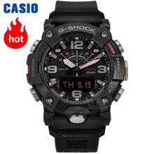 Casio g şok izle erkekler üst marka lüks set çift LED askeri dijital kol saati 200m Su Geçirmez kuvars spor erkekler saat Aydınlık Dalgıç saatler Quad sensörü pusula Adım sayacı Bluetooth erkekler izle reloj часы