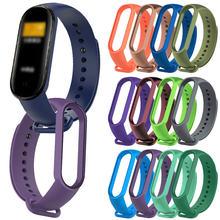 Для xiaomi mi band 5 3 4 спортивные часы с ремешком силиконовый