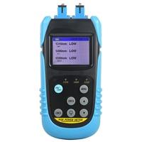 Power meter Tester AUA 607P Handheld PON Fiber Optic Power Meter with SC UPC Connector pon with 1310nm,1490nm,1550nm wavelength