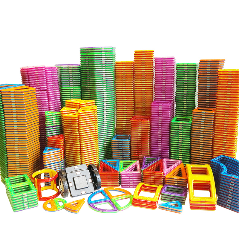 Big Size Magnetic Designer Magnet Building Blocks  Accessories  Educational Constructor Toys For Children