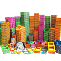 Grande tamanho magnético designer ímã blocos de construção acessórios construtor educacional brinquedos para crianças