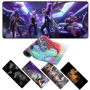 Custom large gaming mouse pad 900x400 2mm anime mousepad xl personalized for World of tanks CS GO Zelda world of warcraft LOL