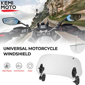 Universal Windshield Spoiler-Extension F800GS Tmax Motorcycle Yamaha Variable BMW Clamp-On