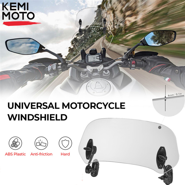 Universal Motorcycle Windshield 1