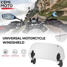 Универсальный мотоциклетный удлинитель на лобовое стекло с зажимом, регулируемый спойлер на лобовое стекло для R 1200GS F800GS для Tmax для BMW для ...