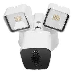 1080P kamera Floodlight Wifi kamera Floodlight Ip55 wodoodporna kamera bezpieczeństwa Hd dwukierunkowa rozmowa czujnik ruchu czujnik pir Push w Kamery nadzoru od Bezpieczeństwo i ochrona na